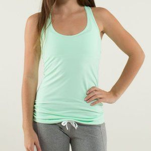 Lululemon Cool Racerback in Fresh Teal – Size 6